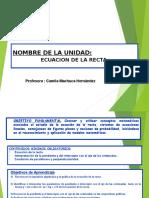 ECUACIÓN DE LA RECTA.ppt