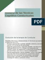 Historia de las técnicas cognitivo conductuales1pptx