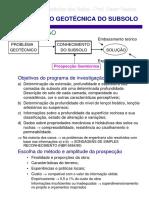 SONDAGEM - PROSPECCAO_GEOTECNICA