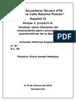 """Analisis literario del """"Quijote de la Mancha"""""""