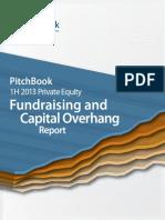 PitchBook 1H 2013 PE Fundraising Overhang Report