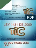 LEY 1341 DE 2009