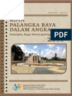 Kota Palangka Raya Dalam Angka 2016