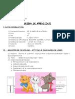 Diseño de Sesión de Aprendizaje