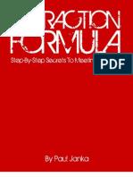 Attraction Formula - Paul Janka
