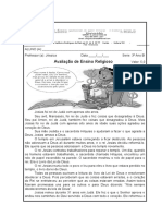 avaliação 3° bimestre ensino REligioso.docx