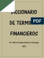 Diccionario de Terminos Financieros