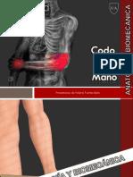 1. Anatomía y Biomecanica de Codo y Mano