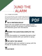 PoundtheAlarm Procedure