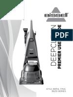 BISSELL User Guide DeepClean Premier Pet Carpet Cleaner 17N4