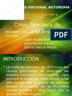 Crisis Petrolera de 1973.