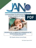 Apuntes de Odontopediatria Basica 2013