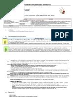 PROGRAMACIÓN DE SESIÓN 2, 3, 4, 5  matemática.docx