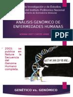Análisis Genómico de Enfermedades Humanas