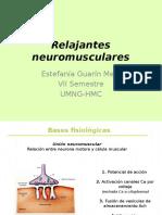 Relajantes neuromusculares