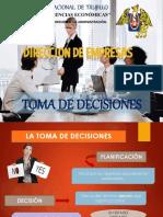 Toma de Decisiciones- Dirección de Empresas