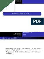 Clase Memoria Dinamica