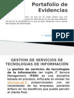 Gestion de Servicios de Tecnologias de Informacion