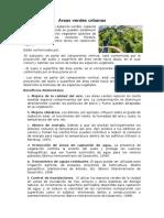 Áreas Verdes Urbanas