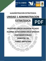 Unidad 1 Administracion Estrategicaa