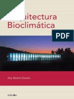 Arquitectura BioclimA!Tica - Garzon, Beatriz(CB)