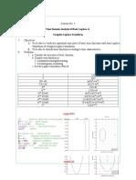 Feedback Laboratory Exercise 3