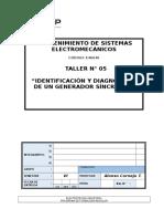 05 Identificación y Diagnóstico de Un Generador Síncrono