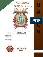 Informe Flotador