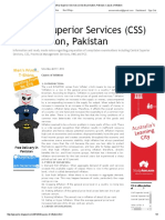 Central Superior Services (CSS) Examination, Pakistan_ Causes of Inflation