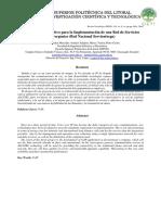 Análisis Comparativo Para La Implementación de Una Red de Servicios Convergentes