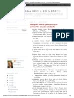 La Guerra Sucia en México_ Bibliografía Sobre La Guerra Sucia y Los Movimientos Armados Actualizada