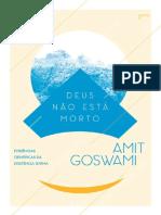 Deus Nao Esta Morto - Amit Goswami