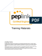 Peplink Certified Engineer - Training Program