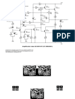 Amplificador clase AB compacto SMD