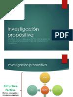 Investigación propositiva Documento de discusión