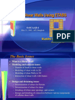 Design of Shear Walls Using ETABS