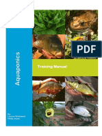 Aquaponics Training Manual