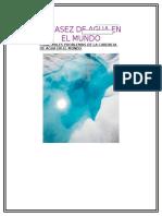 ESCASEZ DE AGUA EN EL MUNDO.docx