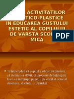 rolulactivitatilorartistico_plastice