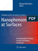 K. Binder, Y.H. Chui, P. Nielaba, A. Ricci, S. Sengupta Auth., Michail Michailov Eds. Nanophenomena at Surfaces Fundamentals of Exotic Condensed Matter Properties