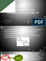 Monitoreo de Los Oxidantes Fotoquímicos
