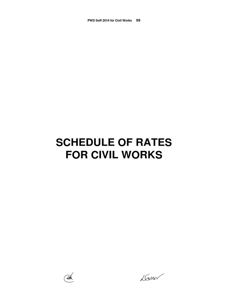 Pwd schedule of rates for civil works 20141pdf brick mortar pwd schedule of rates for civil works 20141pdf brick mortar masonry fandeluxe Images