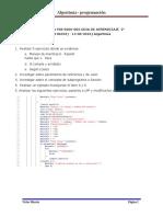 Taller de Guia F08-6060-002 GUIA DE APRENDIZAJE  2° 1196553- 14-08-2016) Algoritmia