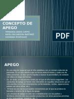 Concepto de Apego
