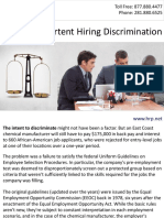 Avoid Inadvertent Hiring Discrimination