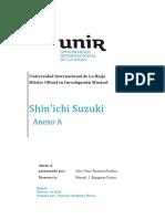 Biografía Shinichi Suzuki