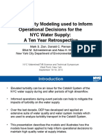 Water Quality Modeling Used to Inform Operational Decisions