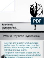 Rhythmic Gymnastics Powerpoint Presentation