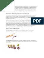 Los avances de la biología molecular en el siglo XX fueron claves en el desarrollo actual de la biotecnología.docx