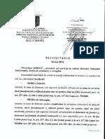 Rechizitoriu DNA Gabriel Oprea 20/P/2016